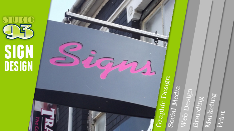 Sign Design, 5 Tips on Getting Spotted from any Distance