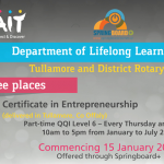 Certificate in Entrepreneurship (AIT)
