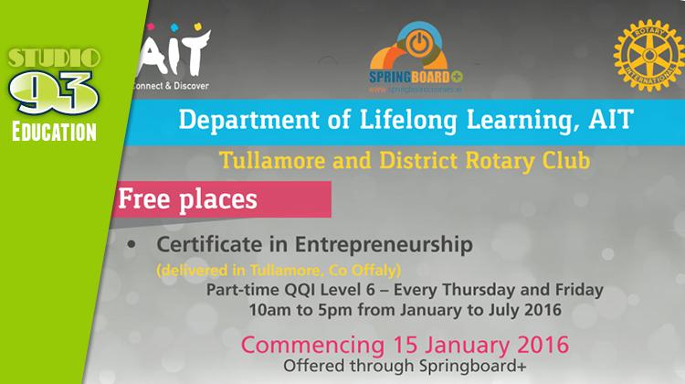 Certificate in Entrepreneurship (AIT)